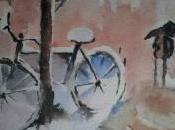 Vélo sous neige