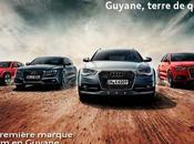Audi, première marque prémium Guyane