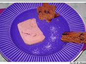 Foie gras canard pain d'epices miel figues raisins, givre