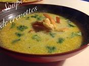 Soupe crevettes
