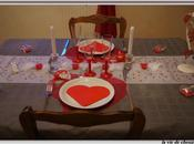 table saint-valentin grise rouge 2015