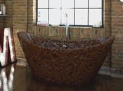salle bain chocolat
