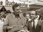 Roger Hanin était venu marché Louviers 1981