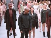 présentation collection Kanye West pour Adidas fashion week York...