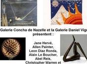SCULPTURE PEINTURE JANE HERVé (BRODERIE), ALLEN PAINTER (PEINTURE), LEON DIAZ RONDA