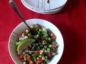 Shirazi salade iranienne Iranian salad