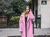 manteau rose
