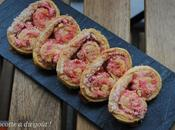 Palmiers pralines roses
