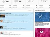 Linkedin ajoute tableau bord notifications pages entreprises