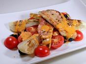 Filets rouget, sauce romesco l'orange fenouil