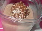 Petites crèmes rochers Ferrero
