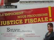 l'affiche fait péter plombs Mulliez, d'Auchan