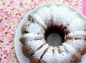 Bundt cake chocolat blanc