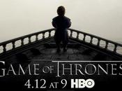 Game Thrones premier poster officiel pour saison dévoilé