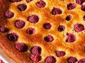 Gâteau mandarine framboise