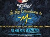 Live Extraordinaire -M- pour secours Rocks Zenith 2015 #BornToBeSolidaire