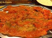 Carpaccio Saumon l'Aneth