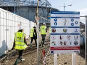 Visite chantier nouveau stade l'OL