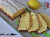 Cake citron crème fraîche