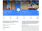 Google Maps itinéraires dans l'agenda améliorés iPhone iPad