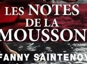 notes mousson, roman Fanny Saintenoy