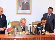 Signature l'accord création Joint-Venture entre Groupe Elec El-Djazaïr société italienne Ducati Energia