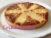Tarte Bourdaloue croissants