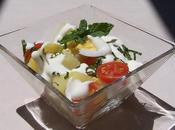 Salade pommes terre tiède menthe.