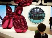 Expo Jeff Koons avec sans enfant