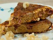 Jambon coquillettes façon tortilla
