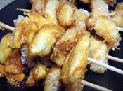 Brochette poulet abricot-coco