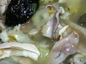 Cock leekie, soupe poulet poireaux