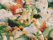 Parillada légumes jambon crème roquefort