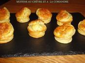Muffins chevre coriandre
