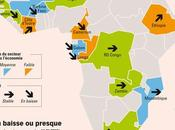 Carte l'attractivite miniere Sahara