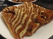 Gâteau zébré zebra cake bizcocho cebra