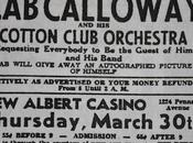 March 1933: your autographed picture Calloway!