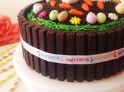 Gâteau Pâques tout chocolat