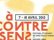 Festival théâtrale Contre Sens avril Paris