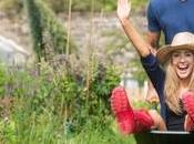 Jardinage bricolage calories moins