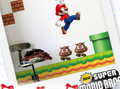 [Noël] Stickers Géants SuperMario