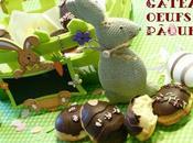 Miam Gâteaux œufs Pâques Chocolat blanc- Noix Coco