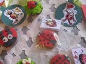 Coccinelle belle Cupcakes cookies