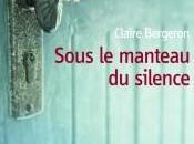 Sous manteau silence Claire Bergeron