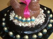 Gâteau pâques chocolat