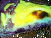 Flan pâtissier choco cassis (ww)
