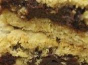 Carrés chocolat flocons d'avoine