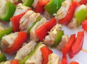 Brochettes volaille