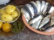 Filets sardines farcies pommes terre