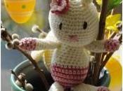 Lapin Pâques crochet